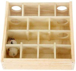 maison à plusieurs chambres pour hamsters